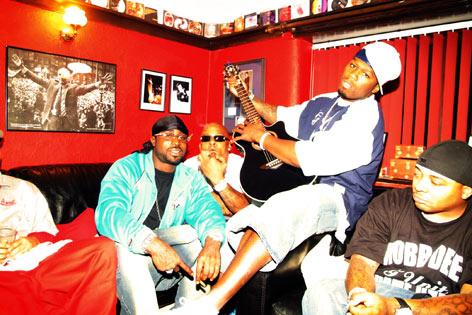 News: 50 Cent records new album at Red Cat Studios in Wigan